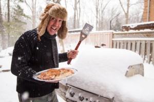 "Foto ""Happy winter griller"" © amyinlondon / fotolia.com (http://www.fotolia.com)"
